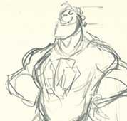 Mr. Incredible Sketch