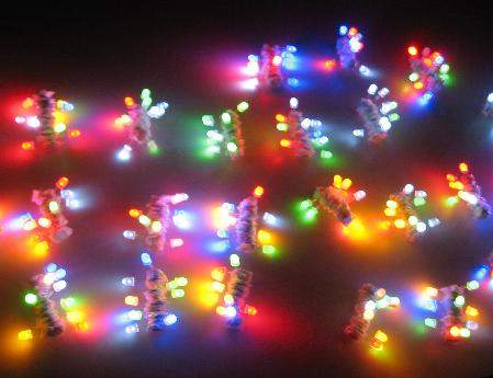 throwies (LED magnets)