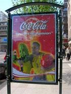 Coke Goal advertisement