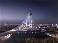Tent over Astana