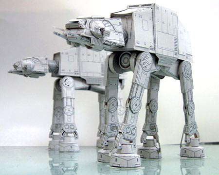 AT-AT Walker Papercraft
