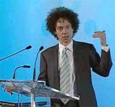 Gladwell at New Yorker Talk