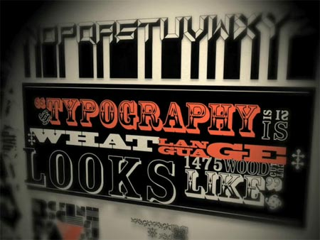 Typography Motion Graphics