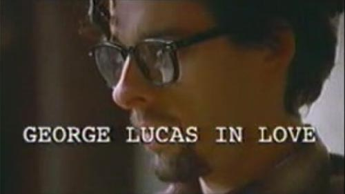 George Lucas in Love title screen
