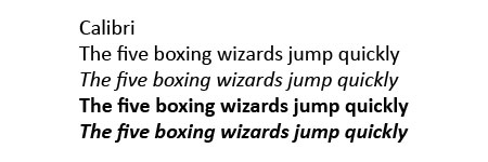 Calibri.jpg font sample
