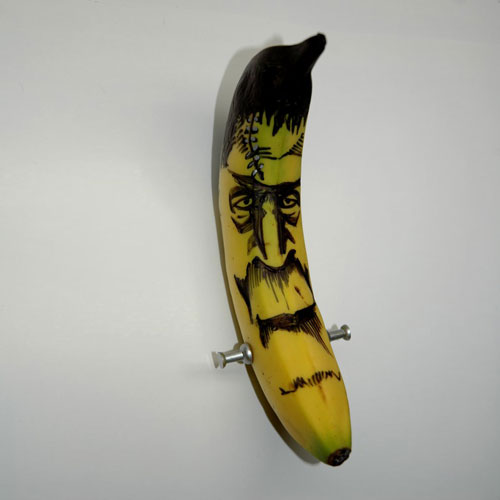 Frankenana - tattooed banana