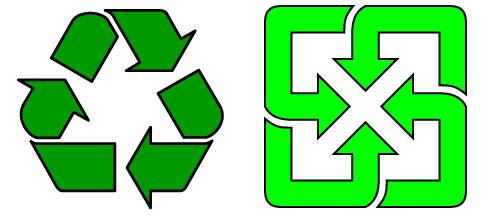 National Recycling Week Logo