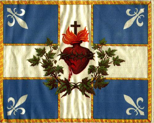 Drapeau Carillon Sacré-Coeur