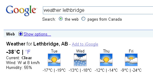 weather in lethbridge