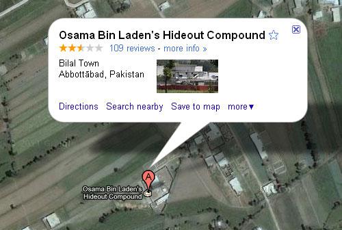osama bin ladens hideout compound