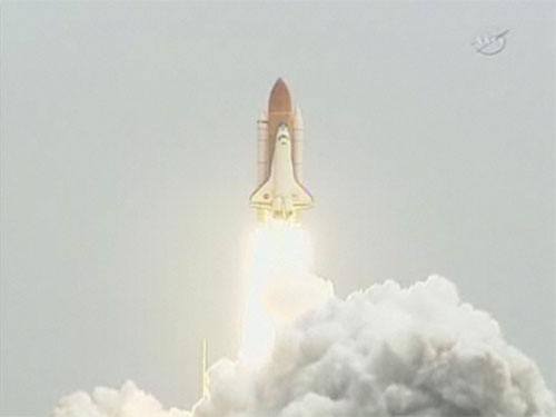 Space Shuttle Atlantis Screen Shot