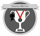 Adobe Weekly Winner icon