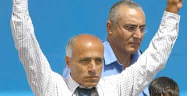 Israeli Traitor Mordechai Vanunu after being released from 18 years of prison