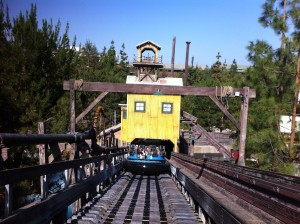 Ascending Grizzly Peak