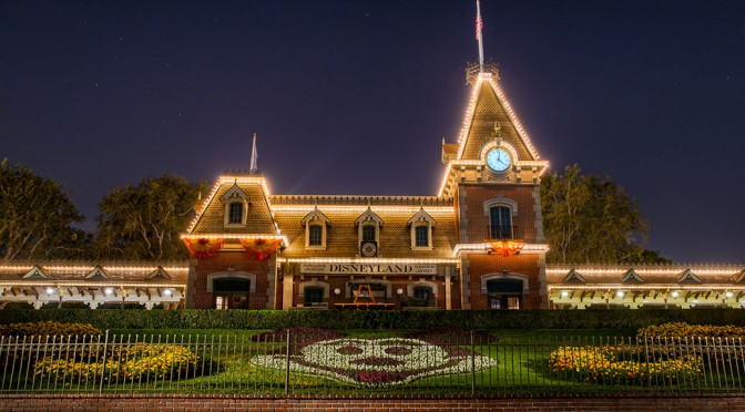 Disneyland Train Station