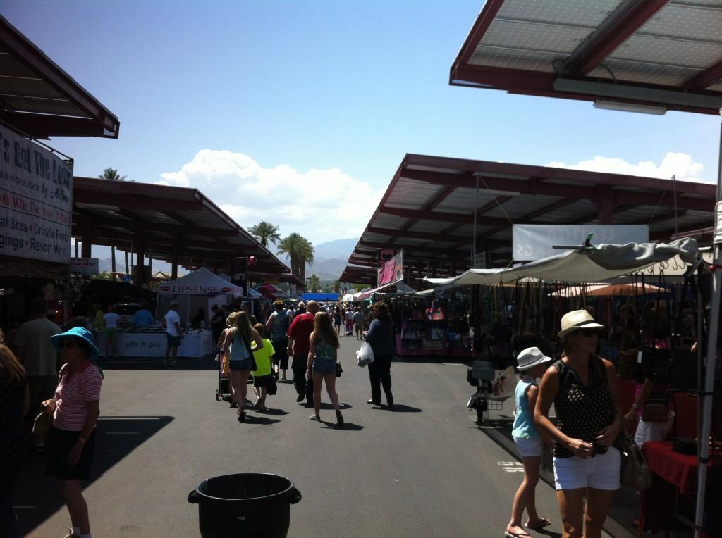 Solar Panelled Street Market