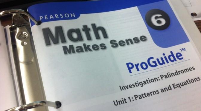 Math Makes Sense Binder
