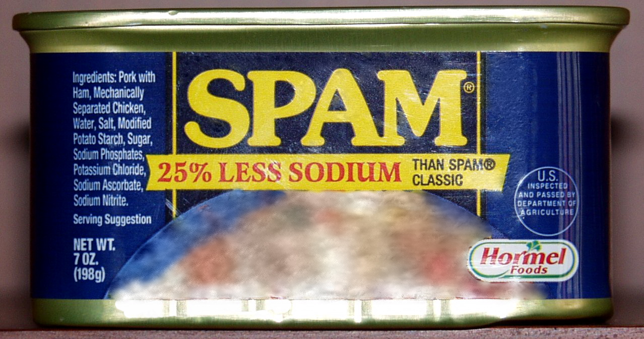 A can of SPAM.