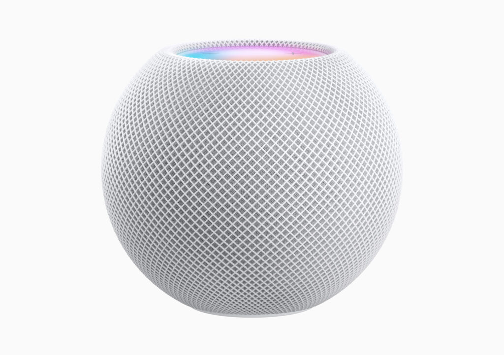 Apple HomePod Mini stock photo