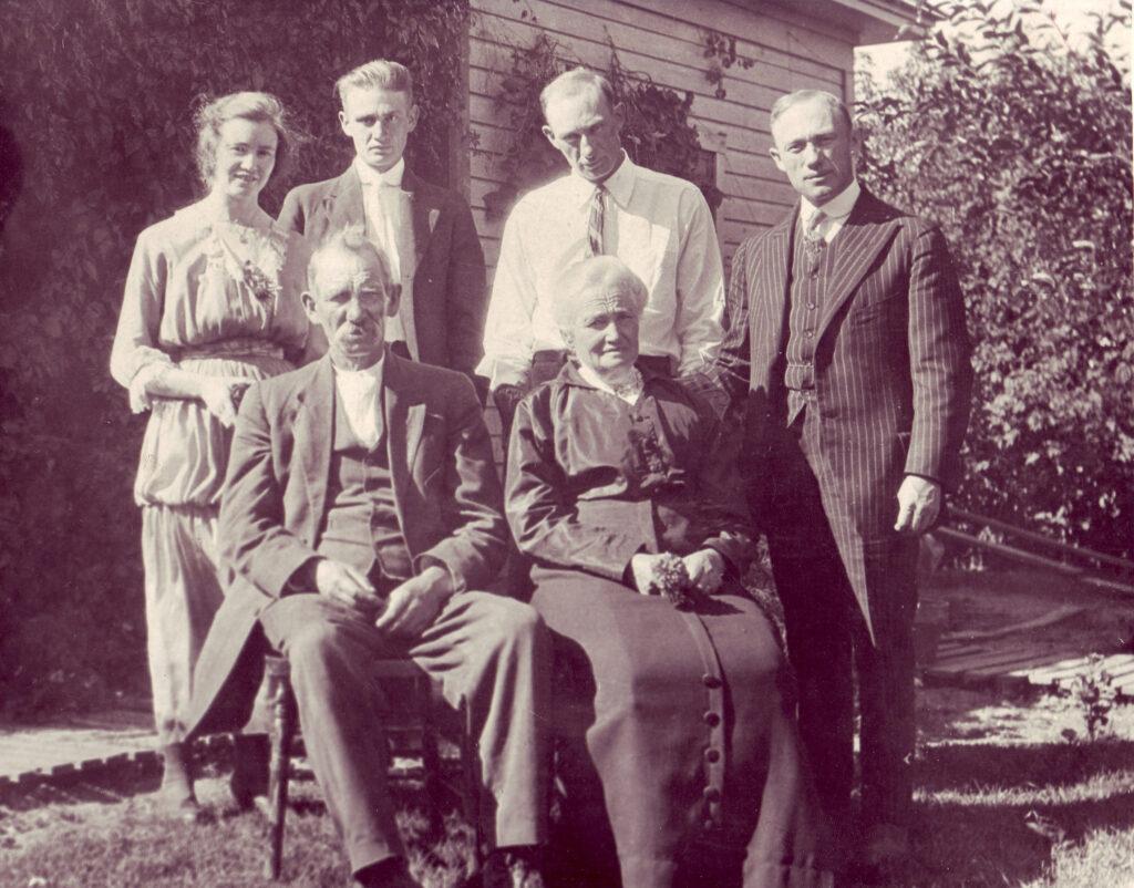 Frank Milner's Family